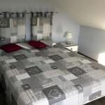 La chambre gris-bleu - Calme et reposante