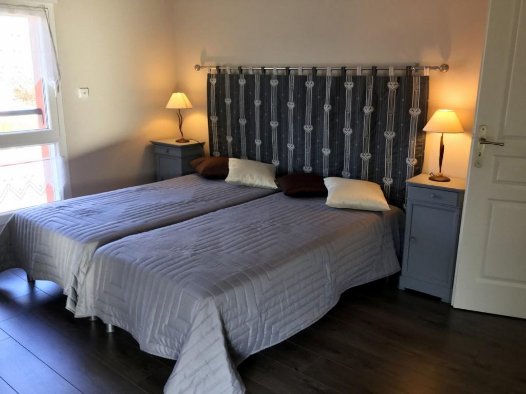 Chambre Lin avec 2 lits simples