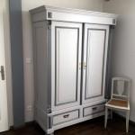 Armoire ancienne rénovée - Gîte proche Joinville