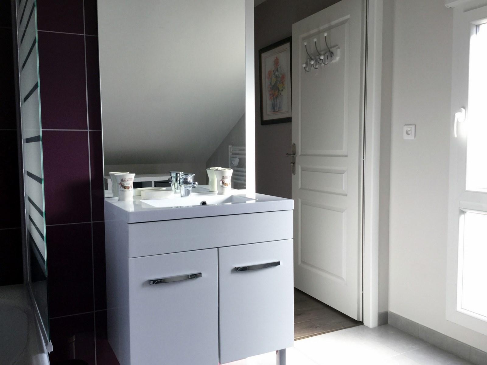 salles deau ralisation duune salle dueau champtre de taille moyenne avec un placard salle du. Black Bedroom Furniture Sets. Home Design Ideas