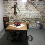 Salle de détente au frais - Gîte la Forge - Meuse